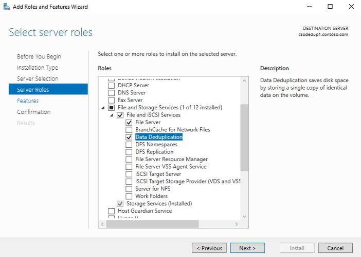 The Case of low Disk Space on Windows Server R2 File Servers – Enable Dedup – #MVPHour