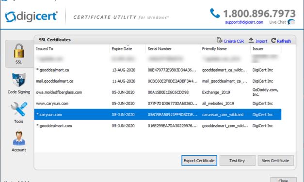 How to Convert Windows SSL certificate PFX Format to PEM Format #WINDOWSSERVER #MVPHOUR @Digicert