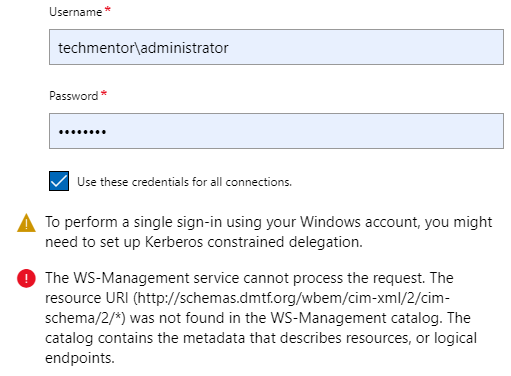 The Case of Unable to connect to Windows 2008 R2 Servers via Windows Admin Center #MVPHour
