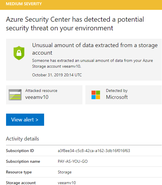 How to Interpret Azure Security Alerts for Azure Storage Accounts