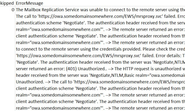 The Case of MRS Error Migrating Mailboxes to Exchange Online