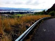 Oregon and Washington border