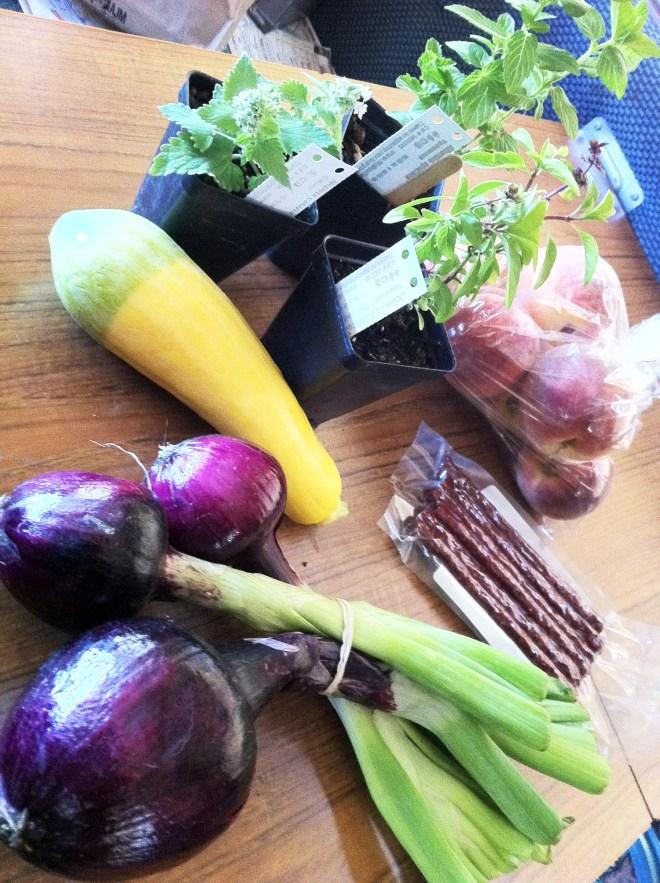 Bounty from the Boise's Capital City Farmers Market