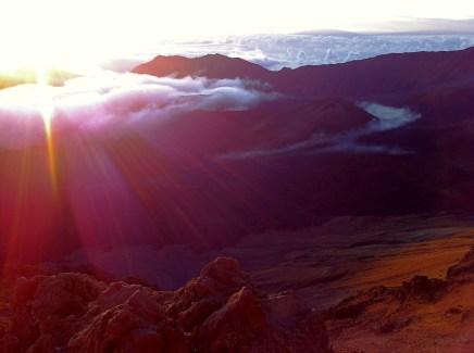 Sunrise Haleakala NP