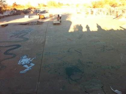 Squirrel's Skatepark, Slab City