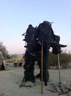 Tire Mommoth, East Jesus, Slab City