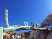 """Love"" Salvation Mountain"