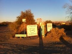 Street Signs, Slab City