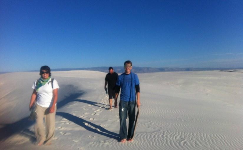 White Sands NM, Slide the Dunes