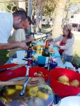 Shrimp Boil with Friends in Florida