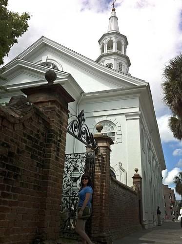 Cemetary Gates Charleston SC
