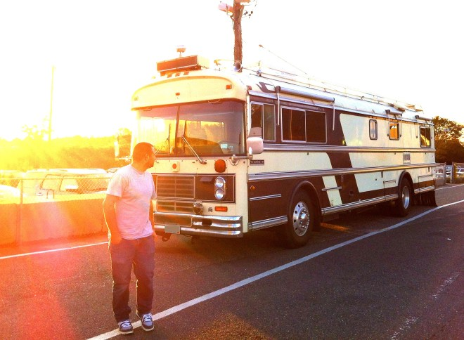 The New Cheddar Yeti Wanderlodge Bluebird Bus