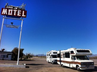 Burro Motel with Stanley, AZ