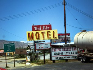 Bel Air Motel, Hwy 56, CA