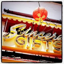 Sincere Gifts, Chinatown, Los Angeles, CA