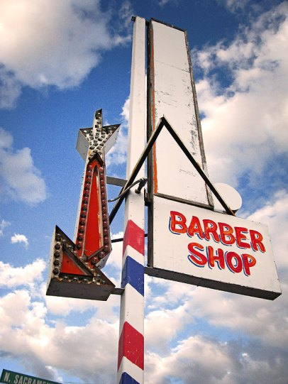 Barber Shop, Susanville, CA