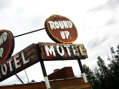 Round Up Motel, West Yellowstone, MT
