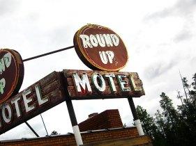 Round Up Motel, West Yellowstone, MT