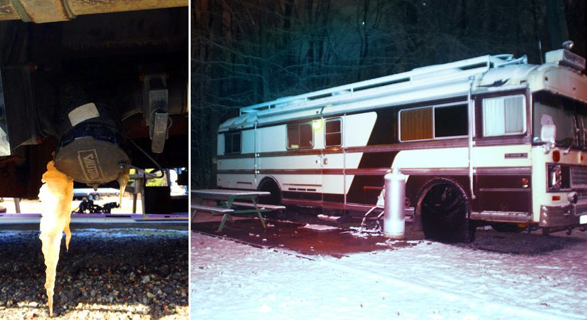 300 lbs of Propane, A Poopcicle & Tips For Surviving The Winter In Your RV