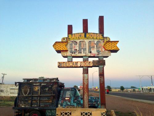 Follow our old trails. Rt. 66 Tucumcari, NM