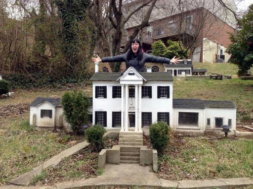 Mini Graceland in Virginia.