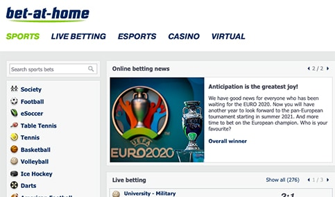Bet At Home Review