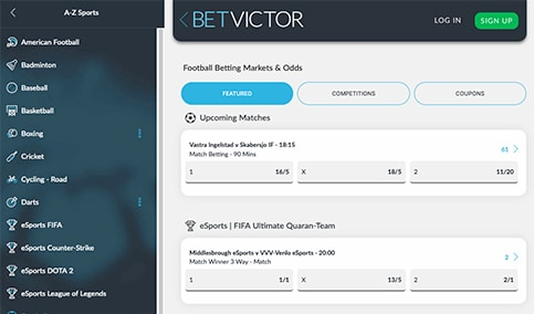 Betvictor Review