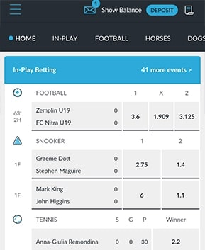 Betvictor App Features