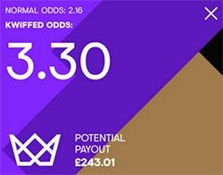 Kwiffed Odds