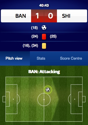 Skybet In-Play Betting