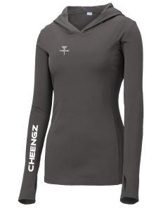 Disc Golf Dry fit hoodie disc apparel, disc golf apparel
