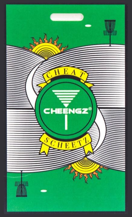 CHEENGZ Cheat Scheetz, Disc Golf Game, Disc Golf Gift, Disc Golf Stocking Stuffer, Frisbee Golf Game, Disc Golf