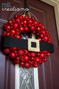 Amazing DIY Christmas Door Decorations