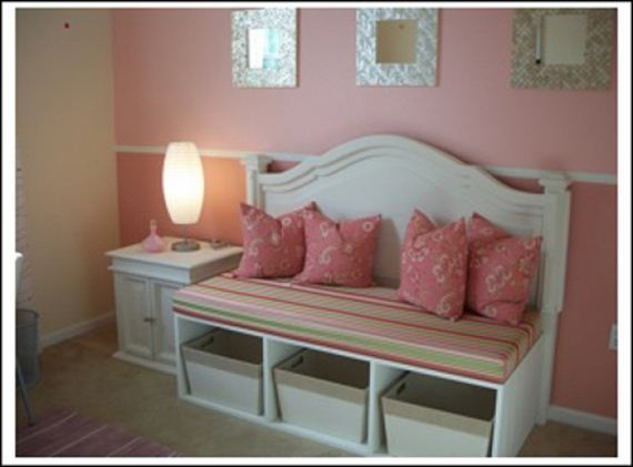 Awesome DIY Ideas for Old Headboards
