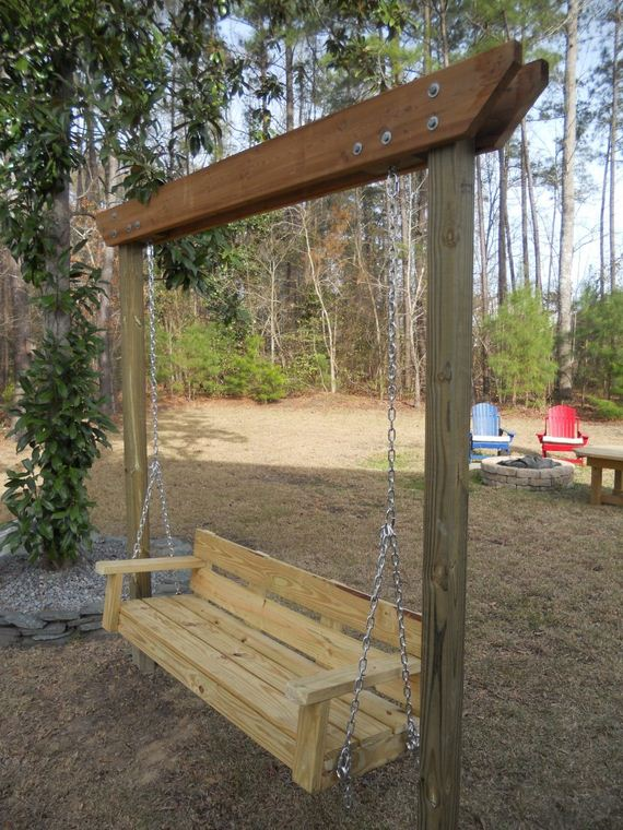 Awesome DIY Garden Swings