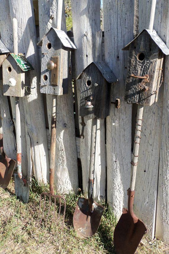 Cool Ways to Repurpose Old Garden Tools