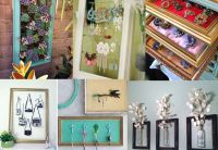 How to Reuse Old Picture Frames Into Home Decor