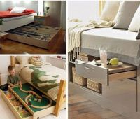 Cool Under Bed Storage Ideas