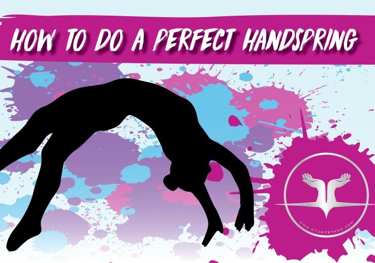 How To Do A Back Handspring
