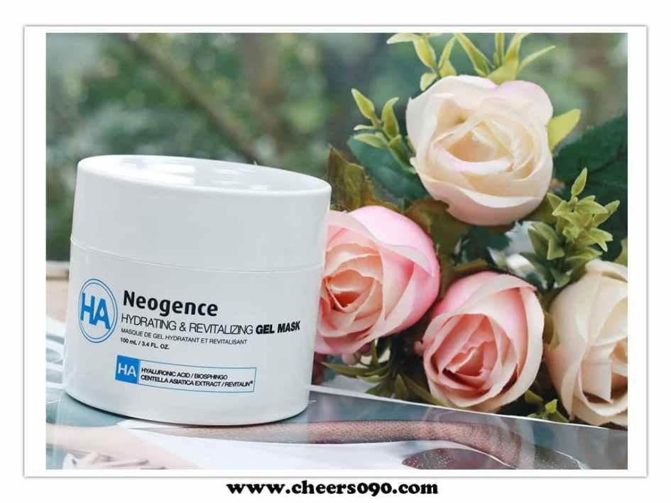 Neogence 霓淨思 玻尿酸能量水凍膜
