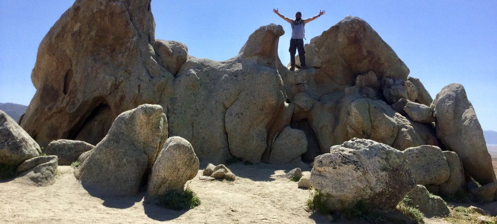 Beautiful Places to Hike in San Diego's Back Country:  PCT to Eagle Rock