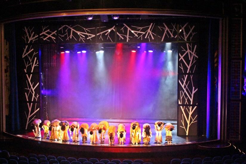 Aufführung im Startdust Theater