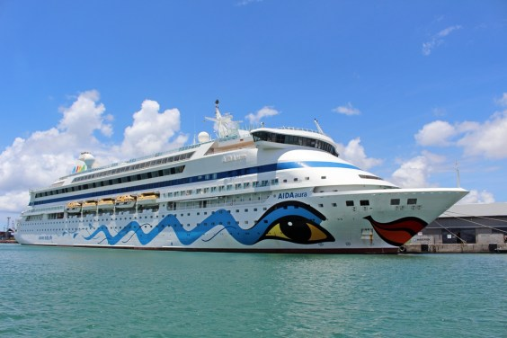 AIDA Aura in Port Louis