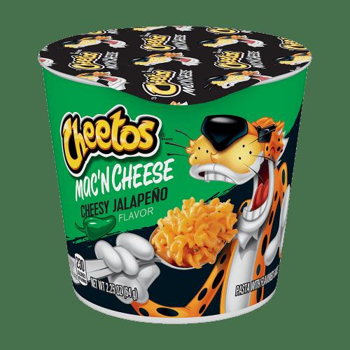 cheetos mac n cheese cheesy jalapeno