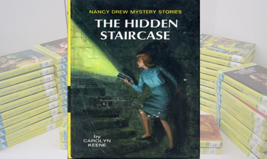 Nancy Drew & the Hidden Staircase Book