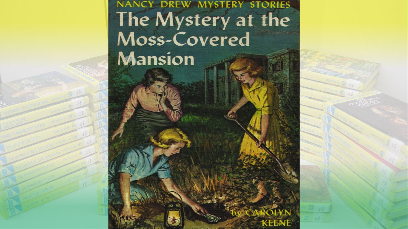 The Mystery at the Moss-Covered Mansion PDF