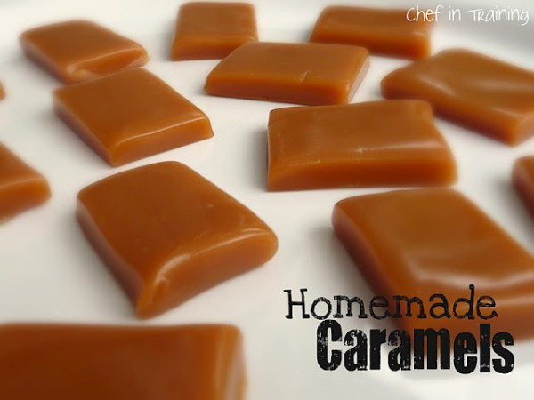 Homemade Caramels Chef in Training