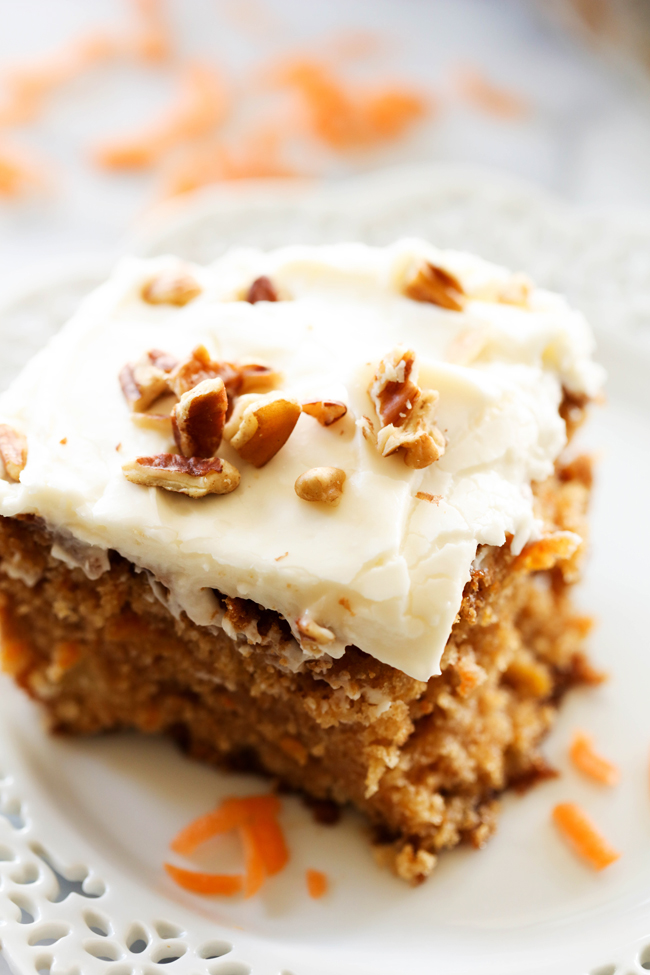 Keep Your Fork Good Things Are Coming Best Ever Carrot Cake