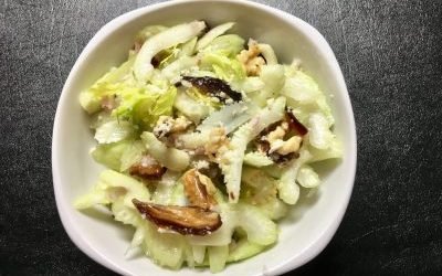 Celery, Date, Walnut and Parmesan Salad