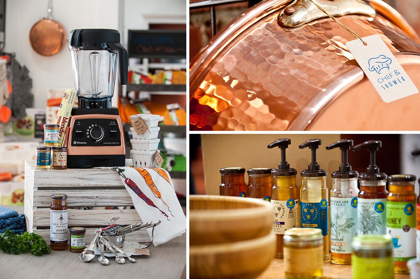 Chef & Shower | Easton Maryland | Kitchen Store | Gourmet | Cutlery | Food Products | Cookbooks | Gifts